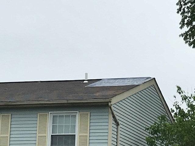 Frederick MD Storm Damaged Roof