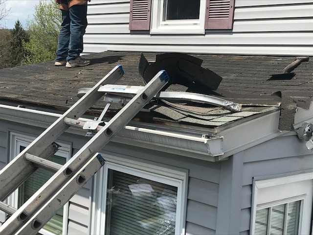 Storm Damage Roof Replaced in Brunswick Maryland - Maryland