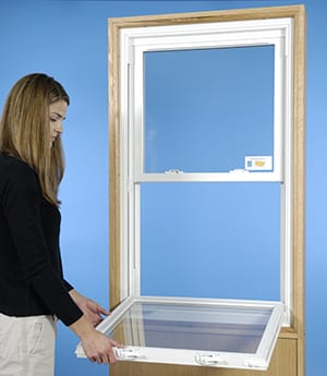 Double Hung Windows Tilt To Clean